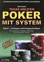 Texas Hold'em - Poker mit System 1: Band I - Anfänger un... | Buch | Zustand gut