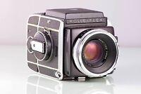 PRECIOSA CLASICA SLR 6X6 120-220 ROLLEIFLEX SL66 SL-66 PLANAR 80mm EXCELLENT ++
