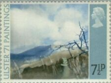 """GREAT BRITAIN -1971- Painting - """"Deer's Meadow"""" (Tom Carr) - MNH Stamp - Sc.#649"""