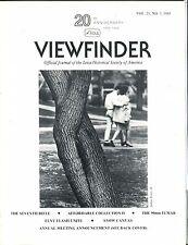 Leica Viewfinder Magazine Vol. 21 No. 3 1988 Julius Fortis Jr. EX 032817lej