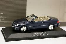 Minichamps 1/43 - Mercedes CLK Cabriolet Bleue