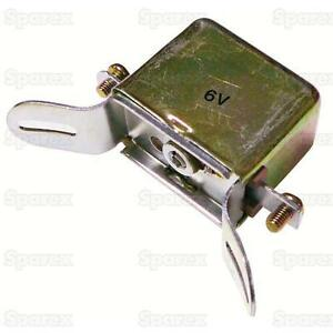 Generator 6V Voltage Cut-Out Relay for Case Tractor DC LA SC V VAC 1867781 US