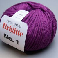 Lana Grossa Brigitte No. 1 - 003 /  50g Wolle (13.90 EUR pro 100 g)