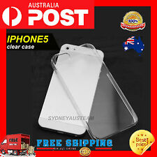 Miracle iPhone 5 5S Ultra Clear Transparent Soft Gel Cover Case for Apple