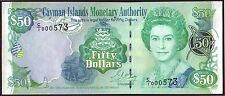 CAYMAN  ISLANDS  50 Dollars  2001   Gem UNC
