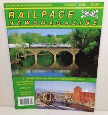 RailPace Magazine - August 2005