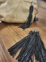 Genuine Real Leather Tassel handmade in Australia - Multiple colours