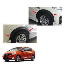 "Fender Flares Wheel Matte Black V2 3"" Trim Fit Honda Jazz Fit GK5 2014 - 2017"