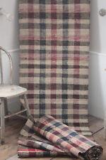 Vintage European Rag Rug carpet stair runner 10.8 yds by 29.5in hallway carpet