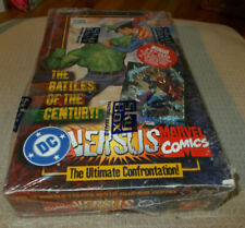 1995 DC Versus MARVEL COMICS Trading Cards FACTORY SEALED in Box- Sky Box - 36Ct