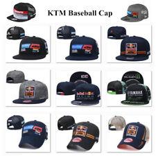 New Mens Embroidered KTM Hat MOTO GP Motorcycle Baseball Cap Snapback Racing Cap
