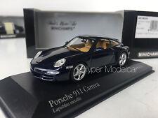 Minichamps 1/43 Porsche 911 Carrera 2004 Blue Art.400063020