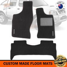 NISSAN NAVARA D22 DX / ST-R Custom Made Floor Mats F+R 04/1997-2015 Charcoal