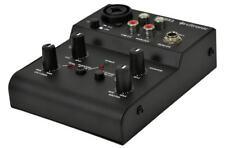 Citronic Q-MIX2 kompaktes USB RECORDING MISCHPULT Heimstudio Mixer Podcasting