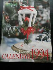 Plastic Canvas Calendar 1994 - the Needlecraft Shop ~ Many Pictures of Projects