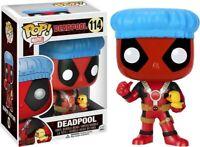 Marvel Pop Vinyl Figure Deadpool Shower Cap & Ducky Rare Vaulted POP Funko