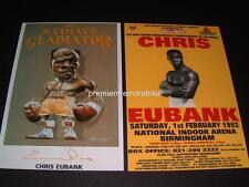 CHRIS EUBANK SIGNED REPRINT BOXING LEGEND WORLD CHAMPION PHOTOGRAPHS
