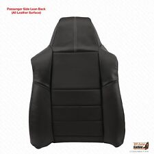 2008 2009 2010 Ford F250 Passenger Lean Back Replacement Leather Seat CoverBLACK