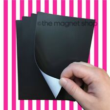 6x4 Self Adhesive Magnetic Sheets 4 Pack Photo Magnets Fridge Craft Sticky