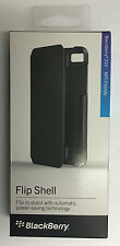 New Original Blackberry OEM Flip Shell Pouch Carrying Case for Z10 Retail Black