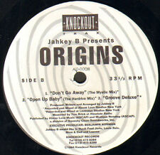 JAHKEY B, PRESENTS ORIGINS - 5 Cut EP (Can You Tell Me / God / Don't Go Away)