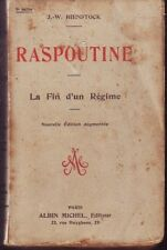 RASPOUTINE   LA FIN D UN REGIME   BIENSTOCK  1917