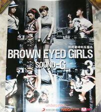 Brown Eyed Girls Vol.3 Sound G Taiwan Promo Poster
