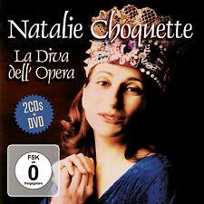 DVD CD Natalie Choquette la diva dell opera classica Arien DVD e 2cds