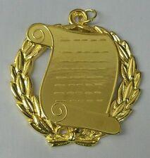Masonic Grand Orator Collar Jewel in Gold Tone