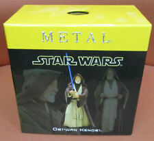 "Attakus Star Wars Metal Obi-wan Kenobi Pewter 4.2"" Figure"
