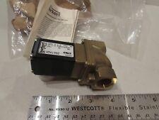NEW Burkert Electric Solenoid Safety Shutoff Valve 1/2NPT 24VDC 140PSI Type 281