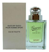 GUCCI BY GUCCI SPORT POUR HOMME EAU DE TOILETTE SPRAY 90 ML / 3.0 FL.OZ. (T)