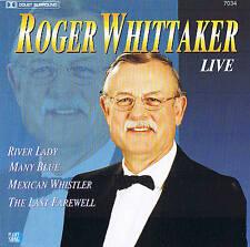 "ROGER WHITTAKER LIVE "" River Lady"" Planet 200 cd nuevo & en Paquete Original 22"