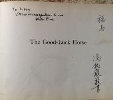 The Good-Luck Horse by Chih-Yi & Plato Chan SIGNED 1943 HCNDJ