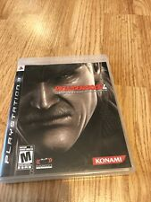 Metal Gear Solid 4: Guns of the Patriots (Sony PlayStation 3, 2008) Ps3 - VC7