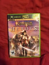 Kingdom Under Fire: Heroes (Microsoft Xbox, 2005) Complete
