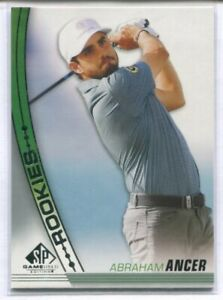 2021 SP GAME USED GOLF ROOKIE RC #41 ABRAHAM ANCER
