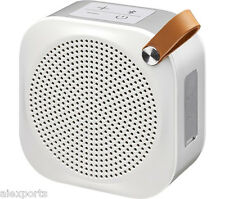 JVC SP-AD50-W SPAD50W Portable Wireless Streaming Speaker NFC Bluetooth - White