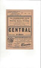 Southport v Lincoln City 1964/65 Football Programme