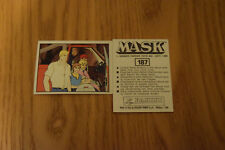 Mask Panini sticker 1986 ( M.A.S.K.  Kenner parker toys ) number 187