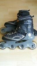 K2 Velocity Titanium Inliner Skater Damen Gr. 38 schwarz grau