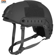 VIPER FAST HELMET AIRSOFT SPECIAL OPS ARMY MILITARY PAINTBALL TACTICAL BLACK