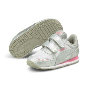 Puma Cabana Racer Glitz Inf Children Shoes Sneaker Sports Shoes 370986