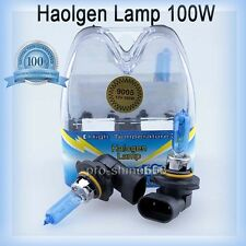 White Xenon HID Halogen Bulb Fog Light Bulbs 100W 5000K 9055 9140 9145 fit Jeep