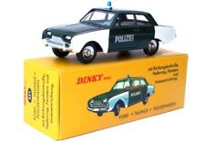 DINKY TOYS ATLAS FORD TAUNUS POLICE - POLIZEIWAGEN - CAR - DIECAST NOREV 1:43