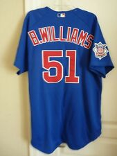 Chicago Cubs Jersey Certified Authentic Player Worn Brian Williams #51 2000
