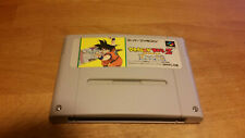 Dragon Ball Z: Super Saiya Densetsu Super Famicom Nintendo SNES NTSC-J