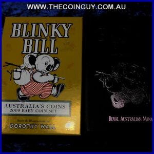 2009 Australian baby proof set Blinky Bill