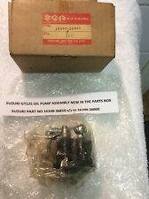 SUZUKI GT125 LMABC NOS OIL PUMP ASSEMBLY PT NO 16100-36810 to 16100-36000