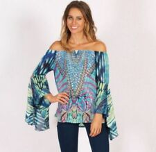 Off-Shoulder Sleeve Butterfly Tops & Blouses for Women